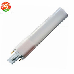 Wholesale Desk Cool - 2016 New G23 GX23 LED bulbs tubes 4W 6W 8W Led lights desk lamp bulb SMD2835 High bright AC85-265V CE RoHS UL
