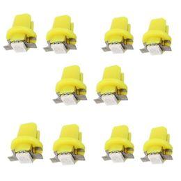 2019 faróis corolla 10 PCS LED Vermelho B8.5D 1SMD 5050 T5 luzes do Instrumento de luz Do Carro Medidor de Lâmpada
