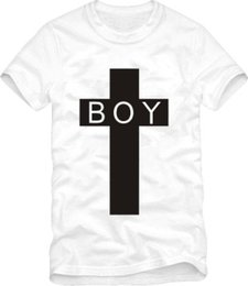 Wholesale New Boy London - Free shipping Hip Hop Brand Cotton Kids tshirts arrival boy london tee Children's t-shirts new style tshirts cross print Tee 100% cotton 6