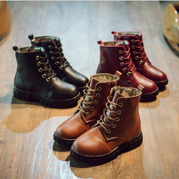 Wholesale Childrens Ankle Boots - 2016 Winter waterproof childrens snow boots warm Christmas winter boots girls boys kids football shoes outdoor sport soccer shoes