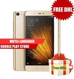 Wholesale Dual Sim Snapdragon - 100% Original Xiaomi Mi5 Snapdragon 820 5.15inch 16.0MP 4G LTE Quad Core 32GB ROM Fingerprint ID Quick Charge Smartphone VS xiaomi mi5 pro