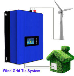 Wholesale Wind Turbines Inverter - 1000W Wind Power Grid Tie Inverter with Dump Load Controller Resistor for 3 Phase 24v 48v wind turbine generator