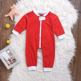 "Wholesale Baby Boy Coverall Rompers - Baby boys girls red rompers kids heart letter jumpsuit ""WPS"" infant bodysuit toddler coverall newborn long sleeve clothing set hot sale"