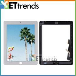 Pour iPad 3 Écran Tactile En Verre Digitizer Assemblée avec Bouton À La Maison 3 M Adhésif Colle Autocollant Pièces De Rechange De Réparation Noir Blanc AA0084 ? partir de fabricateur