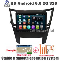 Wholesale Car Radio For Subaru - QZ industrial HD 10.2inch Android 6.0 for Subaru Outback Legacy Car dvd Radio player with 3G 4G GPS WIFI Navi Radio SWC Mirror link BT Map