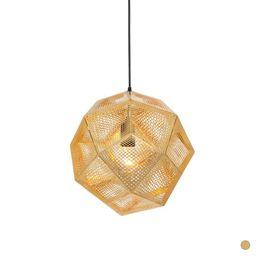 Wholesale Modern Hall Table - Modern Lustre Etch Pendant Lamp E27 avize Nordic Dining Table Hanging Lamp Light Fixtures DIY Luminaire Pendant Light