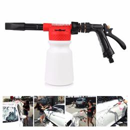 Wholesale Car Wash Guns - Wholesale-Car Washer Tornador Water Gun Profession 900ML Car Cleaning Foam Gun Washing Foamaster Gun Water Soap Shampoo Sprayer