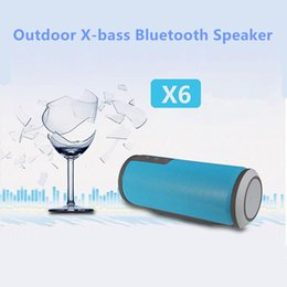Wholesale Bicycle Stereo - W-King X6 HIFI Waterproof Bluetooth Speaker Mini Portable Outdoor Bicycle Sport Stereo Wireless Speaker for Mobile Phon