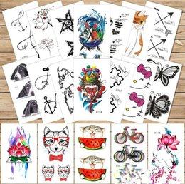 Wholesale Dream Body - 3D Dream Catcher Sex Waterproof Temporary Tattoos Dreamcatcher Flash Tattoo Stickers Body Art for Women Transferable Fake Tattoo