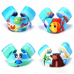 Wholesale Cute Jackets Free Shipping - Jumper Deluxe Life Jacket, 22-60Lbs cute cartoon life jackets FISH PANDA kids children swimming safty vest fast shipping free
