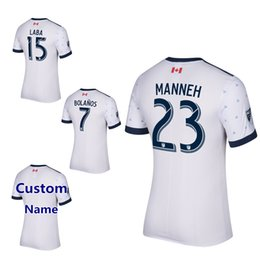 Wholesale 2017 Canada Vancouver Whitecaps Soccer Jersey Darren Mattocks Octavio Russell Teibert WASTON football uniform Men soccer Rain shirts