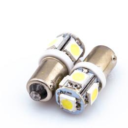 Wholesale Auto Indicator Led Bulb - 100pcs BA9S bulb 5SMD 5050 Car LED SMD for car auto indicator light turn signal lights bulbs parking lights reversing light DC12V