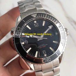 Wholesale Planet Ocean Eta - Top Quality AAAAA Planet Ocean 600M Co-Axial Master Chronometer ETA Cal.8900 Automatic Mens Watch 232.30.44.22.01.001 Black Dial Steel Strap