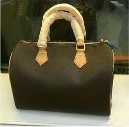 Wholesale Speedy Handbags - Hot Sell Classic Style Fashion bags women bag Shoulder Bags Lady Totes handbags Speedy 29cm   35cm M41526