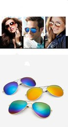 Wholesale Vintage Frog Woman - Unisex Fashion Designer Sunglasses Classic Eyeglasses Retro Aviator Mirror Reflective Lens Sunglasses Vintage Outdoor Frog Sunglasses A0800