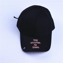 Wholesale Garden Street Iron - Adjustable Snapback Baseball Caps Hat With Rings Jimin Hat Bts Suga Letter Cap Bts Live The Wings Tour Kpop Bts Iron Ring Hats Baseball Caps
