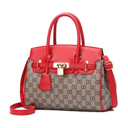 Wholesale Black Metallic Material - handbags women bags new arrival 2017 leather bag for women high quality pu material luxury designer handbags fashion tote bag