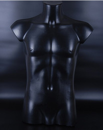 Wholesale Mannequin Male Dummy - FreeShipping! PE material bust flexible male mannequin,busto manichino donna,polystyrene dummy,dmale-clothing-stores without base,M00414