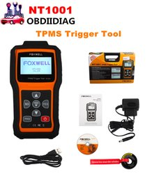 Wholesale Auto Tire Pressure Monitor - FOXWELL NT1001 TPMS Trigger Tool Auto Tire Pressure Monitoring System Decoder Repair Diagnostic Scanner