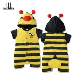 Wholesale Dhgate One - dhgate Baby Summer Romper Animal Baby Girls Boys Costumes Newborn Jumpsuit Overalls One Piece Clothes With Hooded JY0216