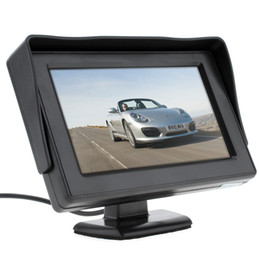 Wholesale Car Dvd Rear Camera - 4.3 Inch HD 480 x 234 Resolution 2-Channel Video Input TFT-LCD Car Monitor for Rear View Camera   DVD   VCD CMO_30B