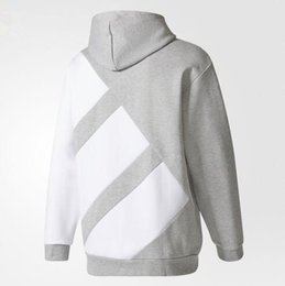 Wholesale Jogging Suits Winter - 2017 new Hot sell Germany Brand autumn and winter Hoodies sweatshirt sweater fitness jogging jacket Street fashion stripes running suit