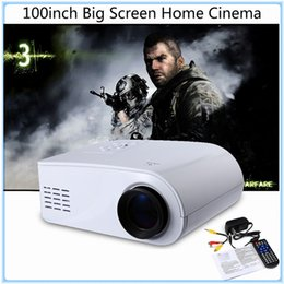 Wholesale Beamer Lamp - Wholesale-Original X6 Mini Pico Portable 3D Projector 80 Lumens HD Home Theater Beamer Multimedia Projector LED Lamp Full HD 1080P Video