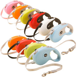 Wholesale Retractable Leashes For Dogs - 10Ft 16Ft 40KG Dogs Retractable Dog Leash Flexible Automatic Extending Walking Lead Rope Traction for Small Medium Dog 10 Colors