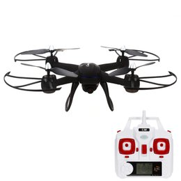 Wholesale Camera Helicopter Lcd - DM009 5.0MP Camera 2.4GHz 6 Axis Gyro 4CH RC Drone RTF Wireless Remote Control RC Quadcopter RC Helicopter with LCD Display