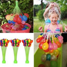 Wholesale Wholesale Magic Water Balls - 1set=3bunches=111balloons Water Balloons Magic Balloons Magic Balloons For Kids Outdoor Funny Game Magic Ball Toy Games CCA6440 120set