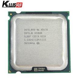 2019 x58 motherboards Der Intel Xeon X5470 SLBBF 3,33 GHz 12 MB 1333 MHz Quad-Core-Prozessor arbeitet auf dem LGA 775-Mainboard