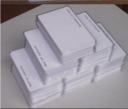 Lector de tarjetas de control de acceso online-Al por mayor-200pcs TK4100 no modificables 125KHZ RFID ID EM Card / tarjeta control acceso / tarjeta de proximidad para el lector de control de acceso con dígitos