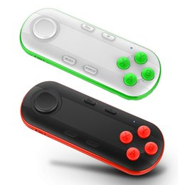 Wholesale Playstation Controller For Pc - Wireless Bluetooth Gamepad VR Remote Mini Bluetooth Game Controller Joystick For IPhone IOS Xiaomi Android Gamepad For PC VR Box