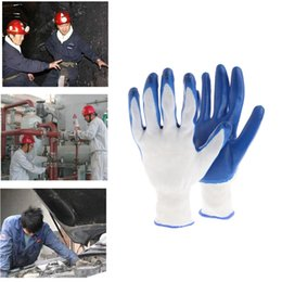 Wholesale Coated Gloves Wholesale - 24pcs=12 Pairs Home Latex Coated Waterproof Thorn Resistant Anti Skid Garden Work Safety Gloves
