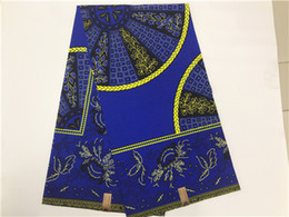 Wholesale Wholesalers For Ladies Garments - Hot selling popular Hollandias wax fabric high quality cotton printed wax fabric 6 yards lot for ladies garment