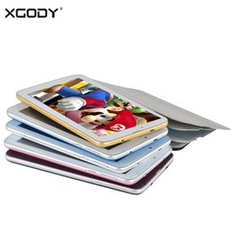 Hd multi-touch tablet online-All'ingrosso- XGODY 7 pollici Touch 3G sbloccato tablet 3G Dual Sim Android Android 4.4 Phablet