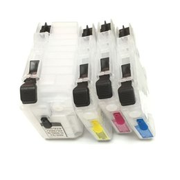 Wholesale Inkjet Printers Brothers - LC669XL LC665XL Refillable ink cartridge with Chip for Brother LC 669 LC 665 for Brother MFC-J2320 MFC-J2720 inkjet printer