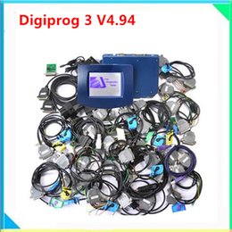Wholesale Gm Units - Newest version Digiprog3 Main unit with brand quality Digiprog 3 lowest price digiprog3 odometer correction multi-language