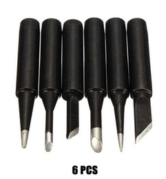 Wholesale Hakko Solder Iron Tips - XNEMON 6 PCS Lead-free New Solder Iron Tip 900M-T for Hakko Soldering Rework Station Tool Drill Bit Hand Tools