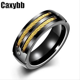 Wholesale Men S Cluster Rings - 2016 new explosion section jewelry Europe and the United States fashion accessories wholesale manufacturers titanium ring ring men 's rings