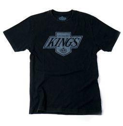Wholesale Vintage Nhl - Men Print Cotton O Neck Shirts NHL Los Angeles Kings Brass Tacks Vintage Style T-Shirt Tops Summer Cool Funny T-Shirt