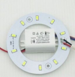 Wholesale Wholesale Mount Board - PROMOTION 5W 12W 15W 18W 23W SMD 5730 Ceiling Circular Magnetic Light Lamp AC85-265V AC220V Round Ring LED Panel board with Magnet MYY