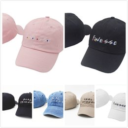Wholesale Club Creams - VORON FINESSE Real friends Embroidered Dad Hat slide buckle style vintage baseball cap Strapback Anti Social Social Club Caps Mastercard