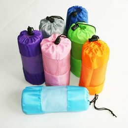 Wholesale Microfiber Towels Bath Size - 80x130cm Larger Size Sports Towel With Bag Microfiber Gym Towel Swimming Travel essiential 7 colors Top quality