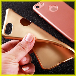 Wholesale Cell Phone Cases Free Shipping - For iPhone 7   6s Phone Case Penetration Scrub TPU Handguard Cell Phone Case Soft Case with Opp Package Free Shipping