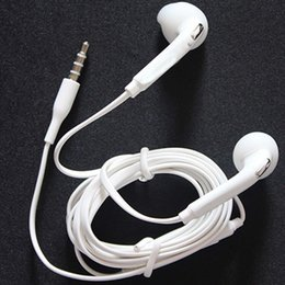 Wholesale S3 Headsets - High quality In-Ear Earphone with Mic and Remote 3.5mm Stereo Headset For Samsung S3 S4 S5 S6 S7 Note 2 3
