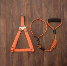 Wholesale Security Harness - Dog Leash & Collar Long Pet Lead for Medium Large Dogs Nylon Walking Dog Leash Outdoor Security Training Dog Harness