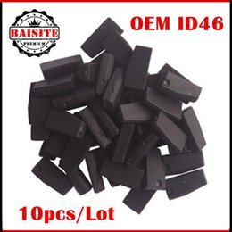 Wholesale Price Peugeot - High quality 10pcs lot free shipping unlocked id46 oem car transponder chip ceramic pcf7936 id 46 transponder chip with factory price