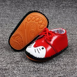 Wholesale Toddlers Red Shoes - NO NG201-NG222 light breathable Baby Boy Girl First Toddler Newborn Girls Lace-Up Brand size athletic shoes