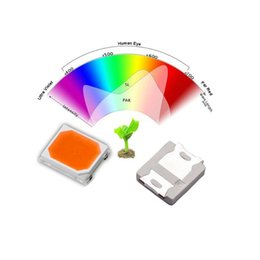 Wholesale Air Registers - Wholesale- Full Spectrum LED Chip 0.5W 2835 3V 150mA 380-840nm Special Of LED Grow Light 100PCS Lot Registered Air Mail